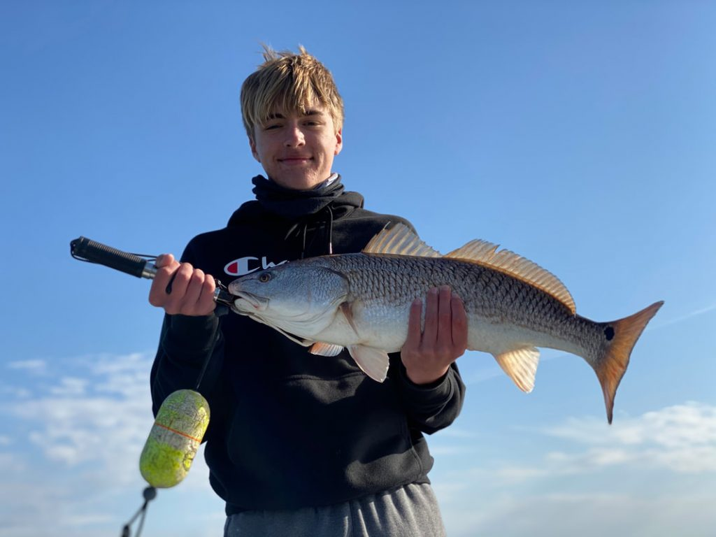 Fishing for Bass, blue Cats, and Redfish.