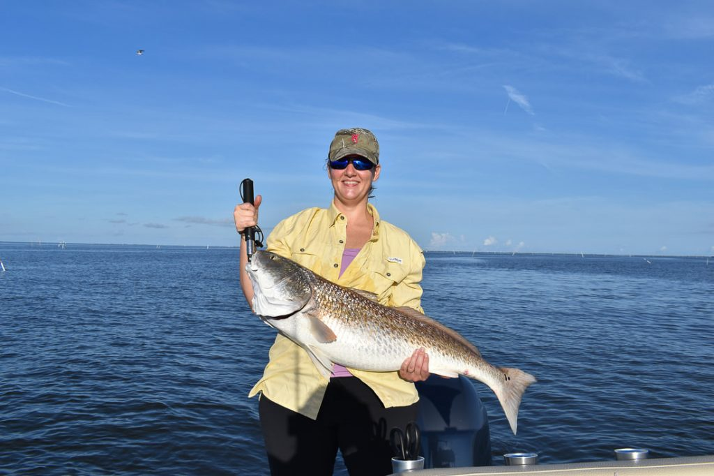 Catching, Bull Reds, Spanish Mackeral in New Orleans.