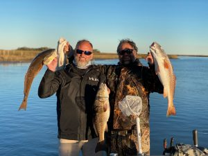 catch large fish in lake Catherine with victory bay charters in new Orleans