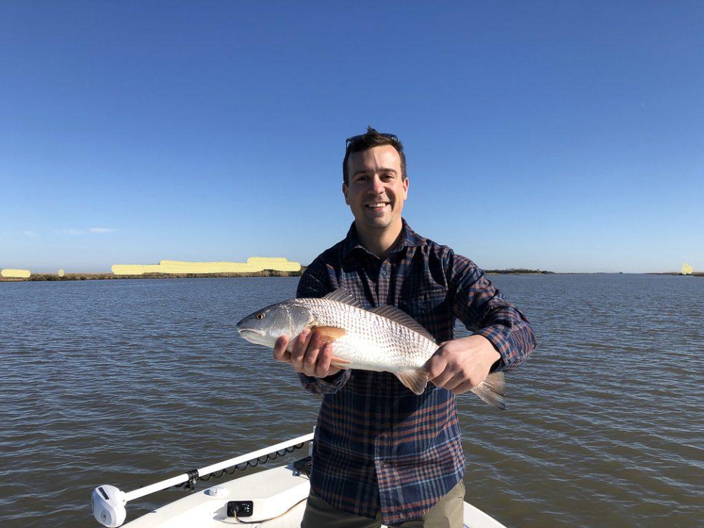 Charter fishing on lake catherine near lake pontchatrain