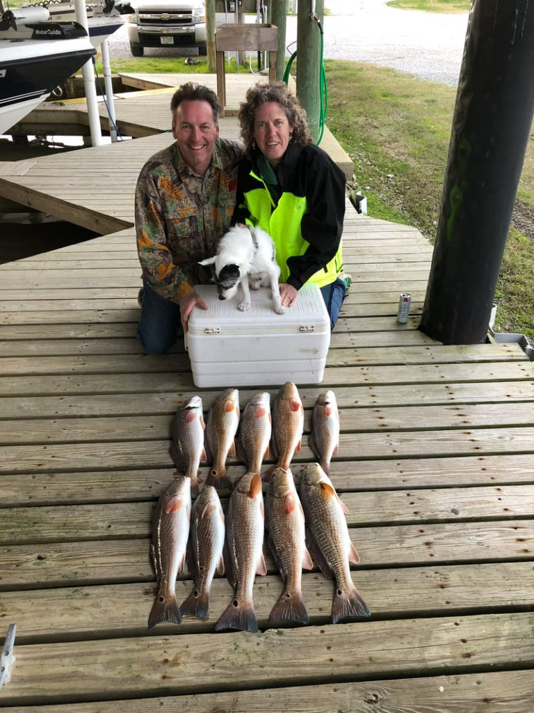 Great Day of fishing near New Orleans with Victory Bay Charters