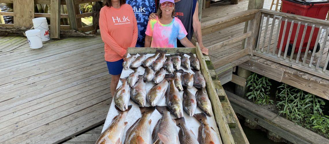 South Louisiana Charter fishing for Redfish